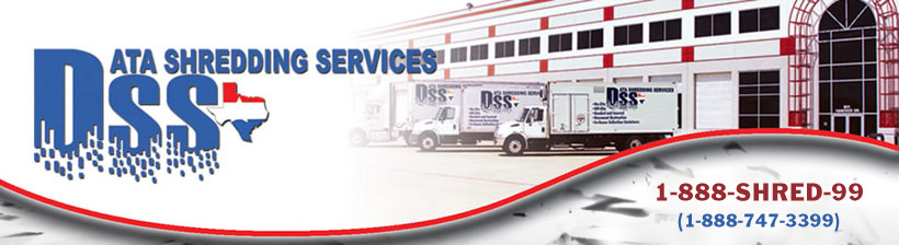 Data Shredding Services - Dallas Shredding
